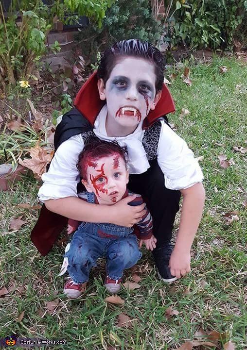 Vampire Homemade Costume