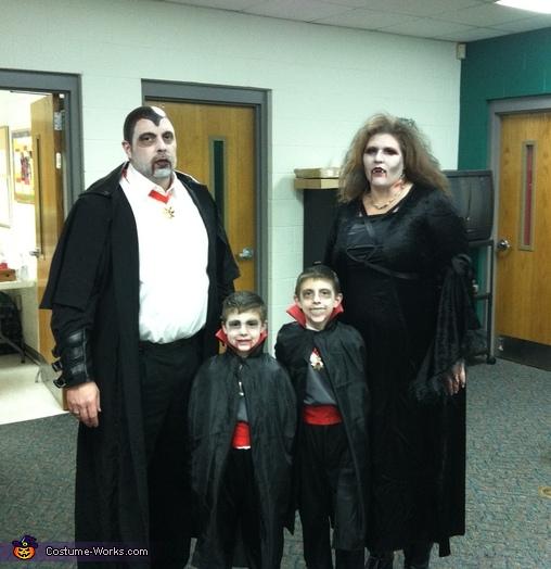 Vampire Family Costume