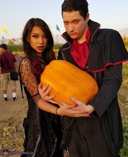 Vampire Family Homemade Costume