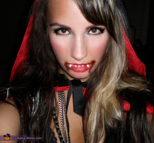 Aleksandra as Vampire Little Red Riding Hood!, Vampire Little Red Riding Hood Costume