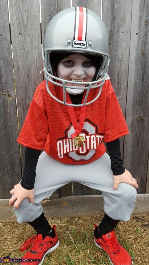 Vampire Ohio State Player Costume