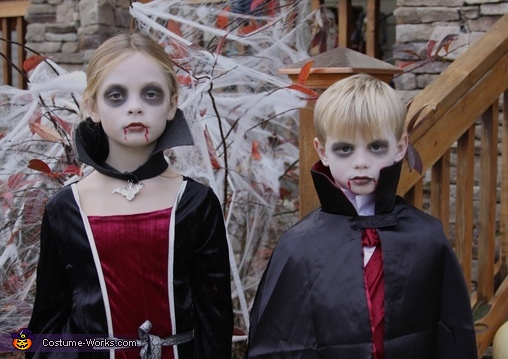 Vampire Siblings Costume