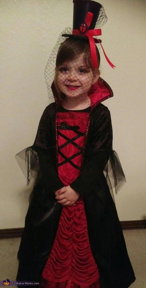 Vampiress Adalynne Homemade Costume