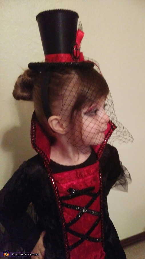 Vampiress Adalynne Homemade Costume