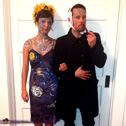 Couples Halloween costume idea Van Gogh and his Masterpiece  sc 1 st  Costume Works & 75 Creative Couples Costume Ideas