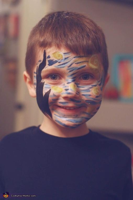 Luke, Van Gogh and Starry Night Costume