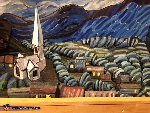 Detail, Van Gogh Mashup Costume