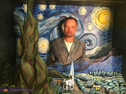 Close up, Van Gogh Mashup Costume