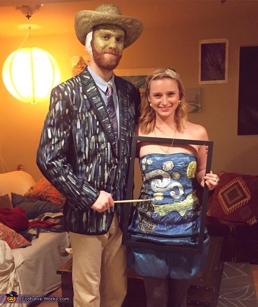 Van Gogh & Starry Night Costume