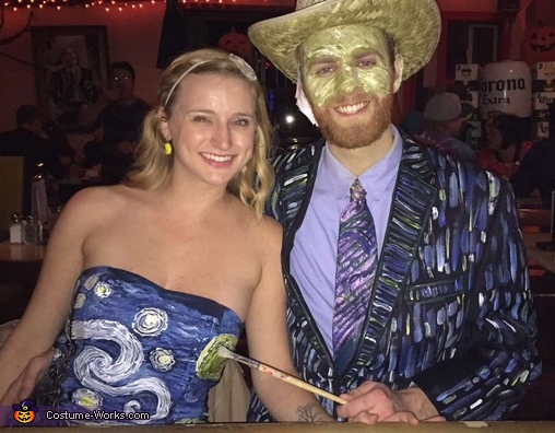 Van Gogh & Starry Night Homemade Costume