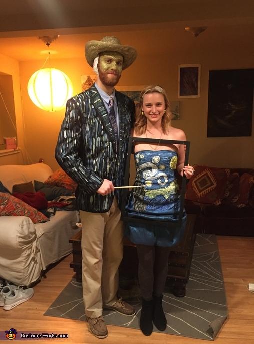 Van Gogh & Starry Night Homemade Costume