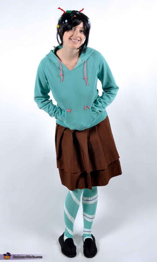 Just another full body shot., Vanellope Von Schweetz Costume