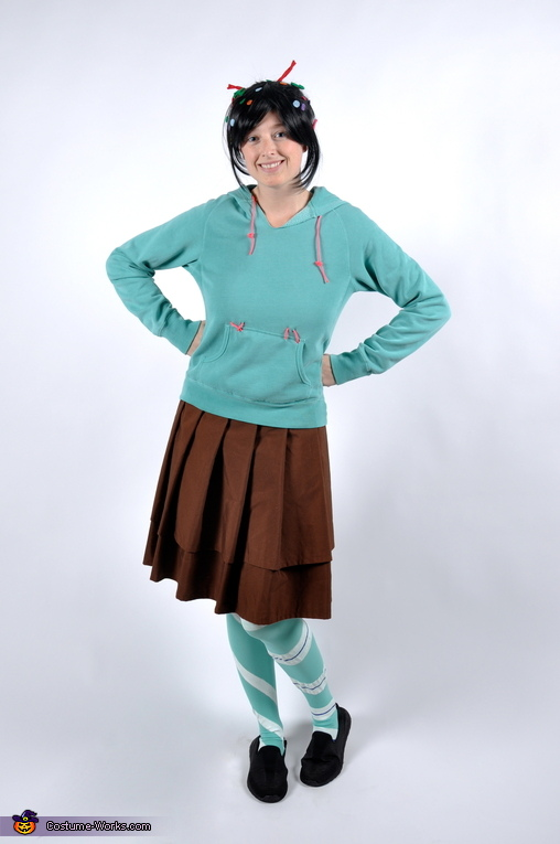 I took a lot of photos., Vanellope Von Schweetz Costume