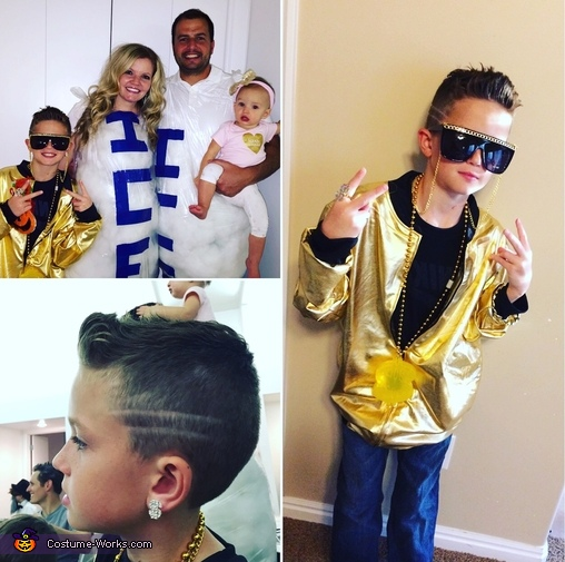 Vanilla Ice and Ice, Ice baby Homemade Costume