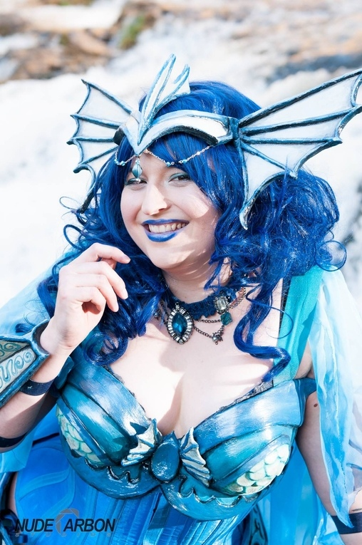 Vaporeon Pokemon Homemade Costume