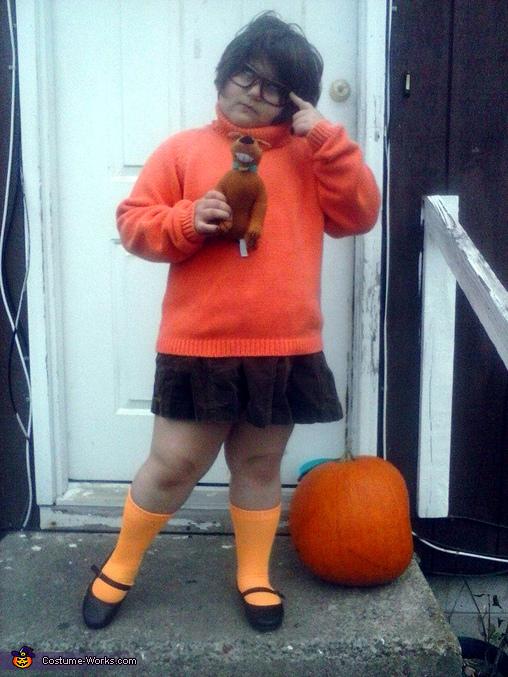 Scooby Doo Velma Dinkley Costume