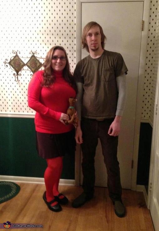 Scooby-Doo Velma and Shaggy Couple Costume