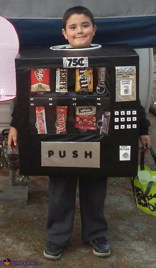 Vending Machine Costume