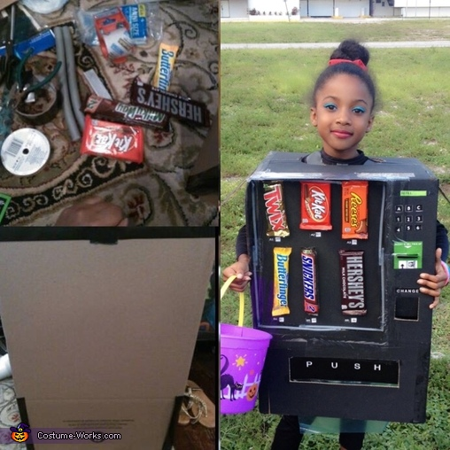 Easy DIY Vending Machine Costume