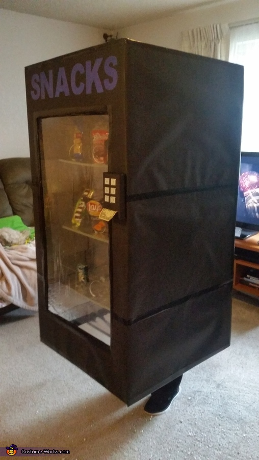 Adult Vending Machine Costume