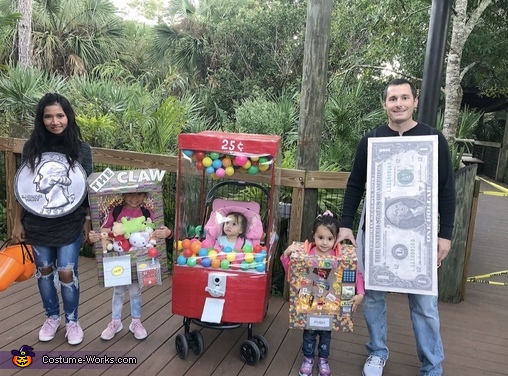 Vending Machine Family Costume