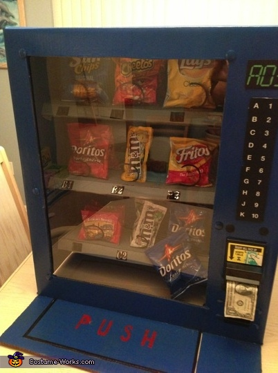 Snack Choices up close - BOGO on Doritos!, Vending Machine Costume