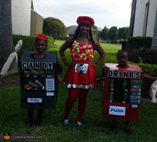 Vending Machines Costume