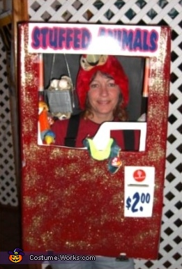 Stuffed Animal Vending Machine Costume