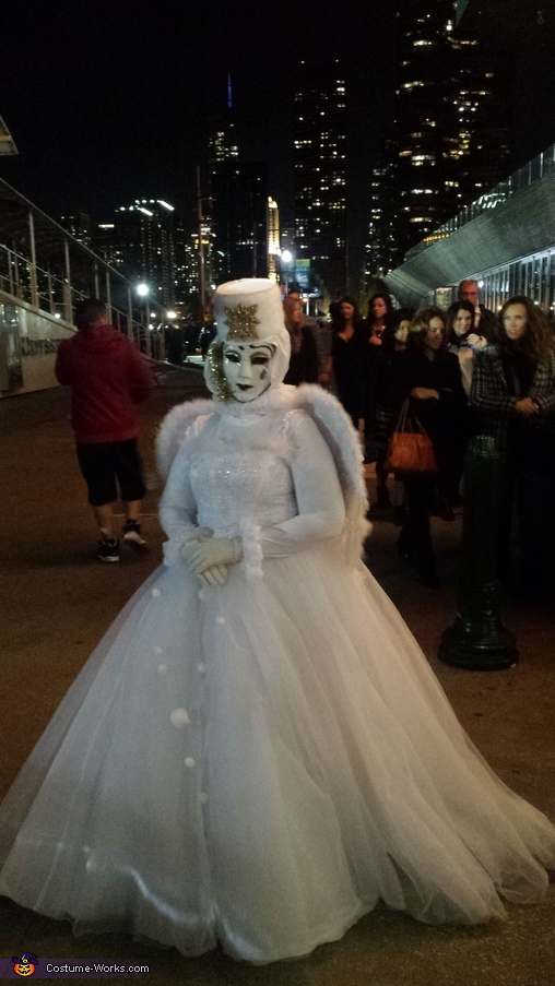 Venetian Angel Ghost Bride Homemade Costume