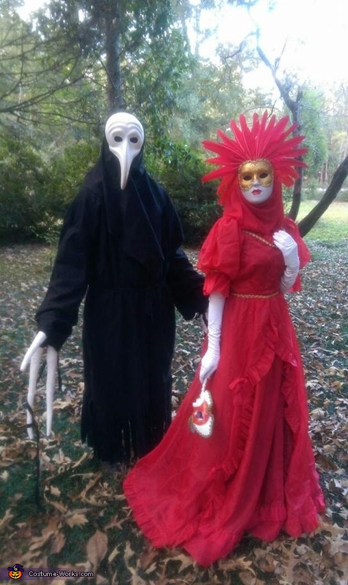 Venetian Carnival Couple Costume