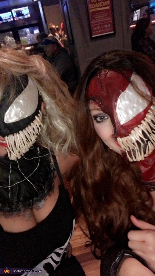 Venom Homemade Costume