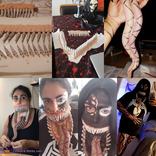 The process, Venom Costume