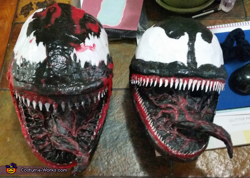 Masks, Venom and Carnage Costumes