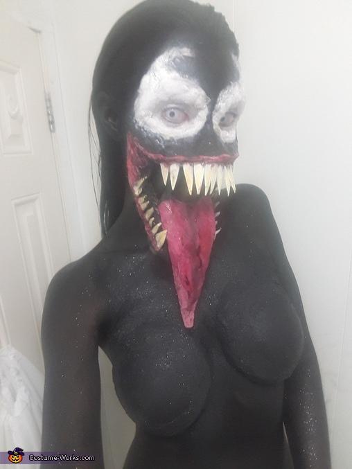 Venom Spiderman 3 Homemade Costume