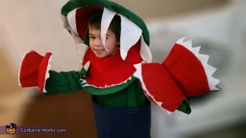 Venus Flytrap Homemade Costume
