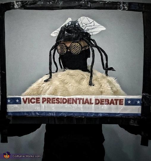 Vice Presidential Debate Fly Costume