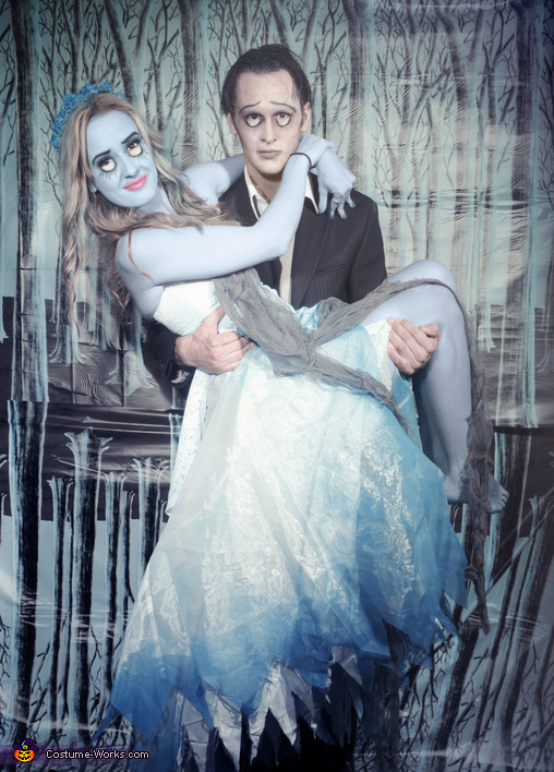 Victor and Emily from Corpse Bride Costume