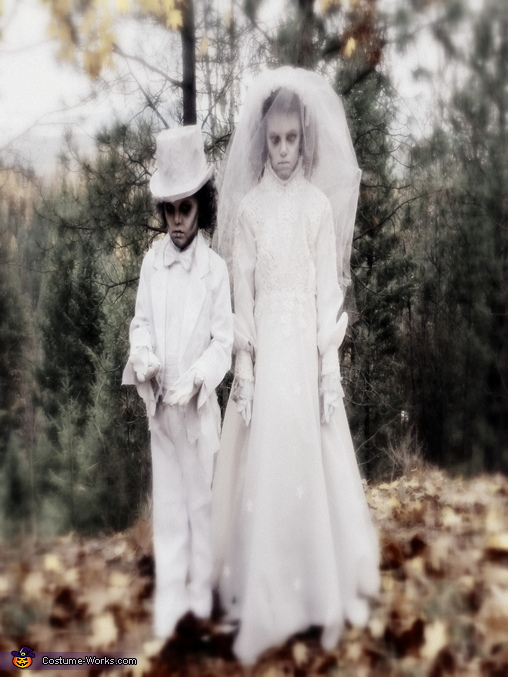 Victorian Ghosts Homemade Costume