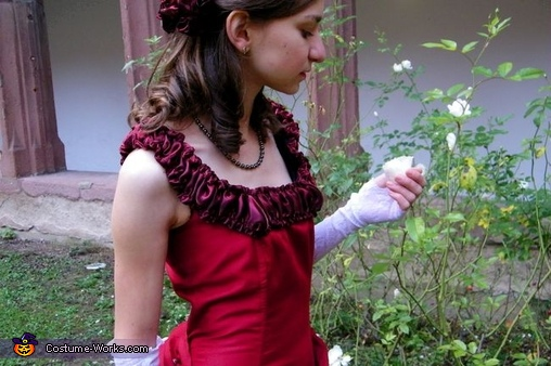 Victorian Girl Homemade Costume