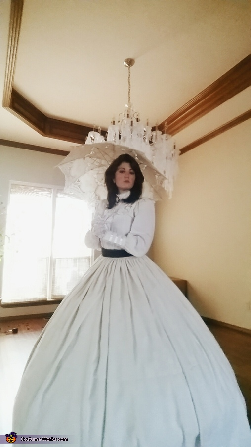 Victorian Lady Homemade Costume