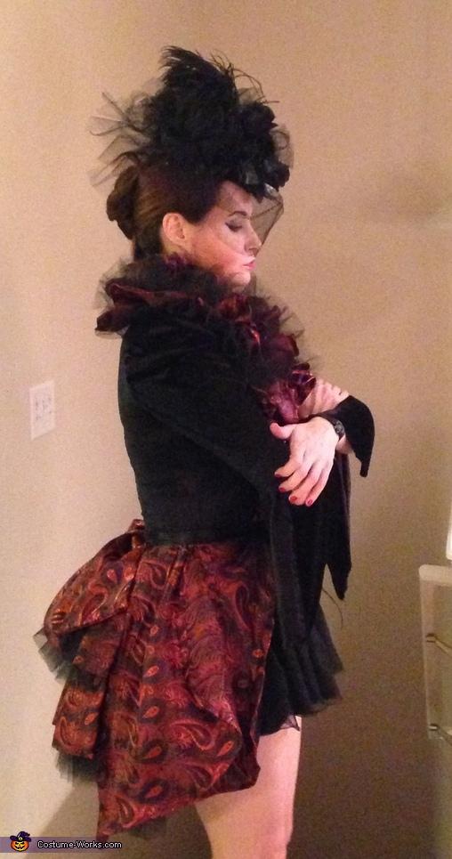 Victorian Vampire Homemade Costume