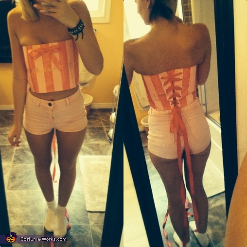Victoria's Secret Model Homemade Costume