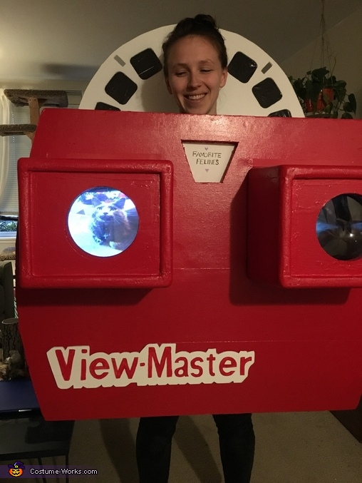 With working slideshow of photos!, ViewMaster Costume