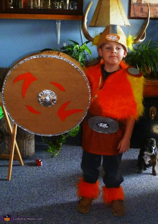 Homemade Viking Costume