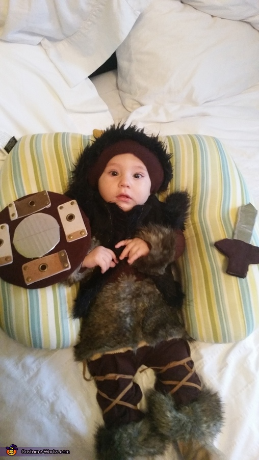 How to Train Your Dragon Viking Baby Costume
