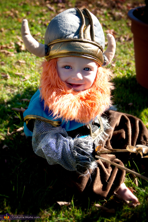 Viking Baby Costume
