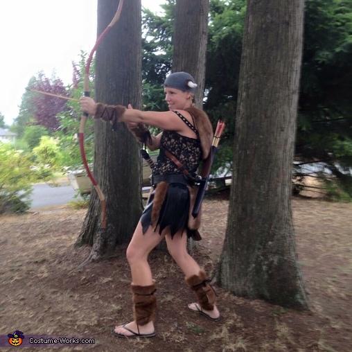 Viking shot!, Viking Girl Costume