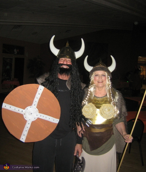 Viking Warrior and Brunhild Costume