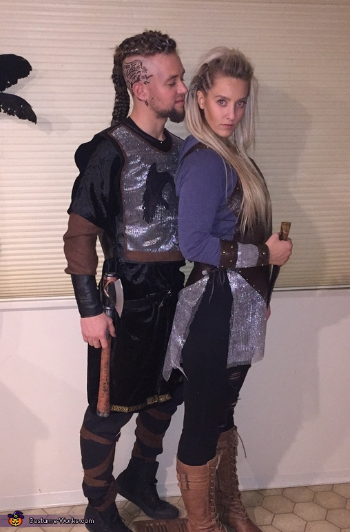 Vikings Ragnar and Lagertha Costume