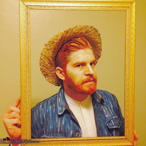 Vincent Van Gogh Self Portrait Homemade Costume
